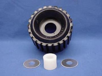 "Picture of Roller Assembly w/Bushing & Washers ""Quad Rolls"""
