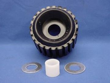 "Picture of Roller Assemly w/Bushing & Washers ""Hog-Ring"""