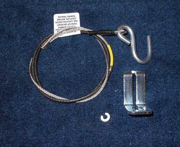 Ez Loader Boat Trailer Parts Store Ufp Xr84 Break Away Cable