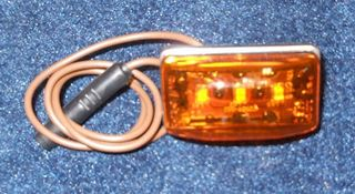 Picture of CLEARANCE LIGHT-LED RECTANGULAR STUD MOUNT AMBER