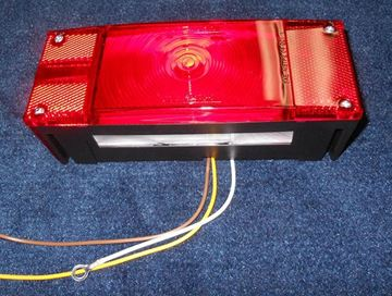 Picture of TAIL LIGHT-LEFT SIDE LED RECTANGULAR