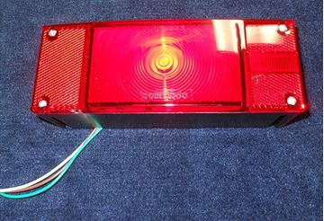 Picture of TAIL LIGHT-RIGHT SIDE LED RECTANGULAR