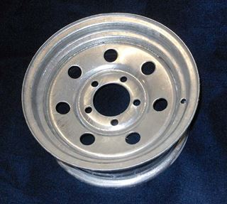 "Picture of WHEEL-13"" GALVANIZED TRACKER"
