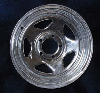 "Picture of WHEEL-14"" GALVANIZED V-5"
