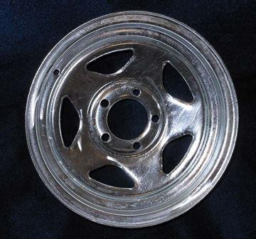 "Picture of WHEEL-14"" GALVANIZED V-5"
