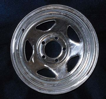 """Picture of """"Special Order""""WHEEL-15"""" GALVANIZED V-5"""