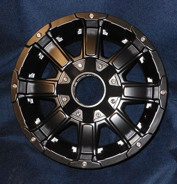 "Picture of WHEEL-18"" ALUMINUM BLACK MAYHEM (6 HOLE)"