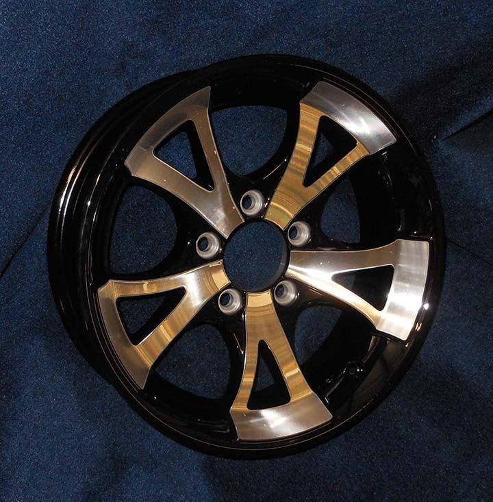 ez loader boat trailer parts store wheel 14 u0026quot  a1411 black