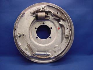 Picture of BACKING PLATE 12'' HYDRAULIC, LEFT SIDE