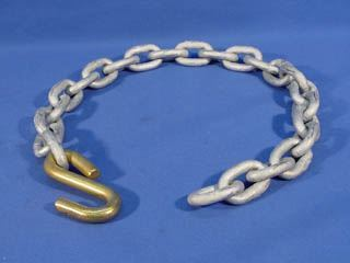 """Picture of CHAIN 3/8X32 1/2"""" W/SHACKLE 9800#"""