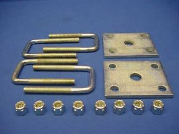"Picture of Leaf Spring to Axle Mount Kit 1.5x1.5"" Axle"
