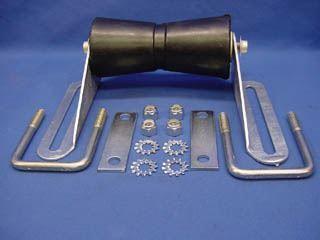 "Picture of KEEL ROLLER KIT 8'' w/HARDWARE 3x3"" CMBR"