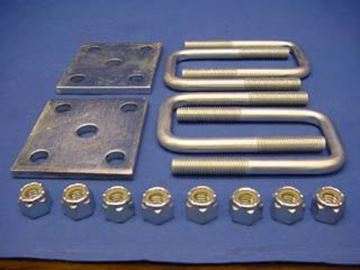 "Picture of Leaf Spring to Axle Mount Kit  2""x2"" AXLE"