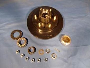 "Picture of HUB & ROTOR KIT 10"" OIL (RELIABLE)"