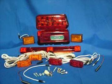 "Picture of Lighting Kit ""LED"" Galvanized Steel Fndr. & Comp. Cover"