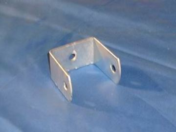 """Picture of STRAP BENT BOOM/TONGUE CROSSMEMBER CLAMP 2X3"""" FRAME GALVANIZED"""