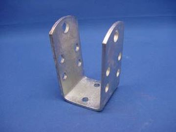 """Picture of U-Bracket Bunk Mount Dual Position 2X2"""" CMBR"""