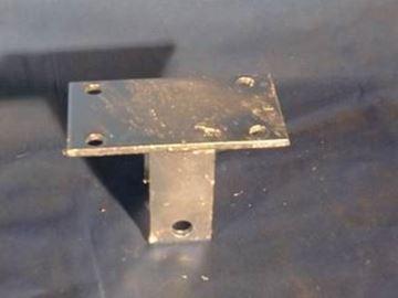 """Picture of Hanger Shackle Tandem 2"""" Frame / Alum. - Galv."""