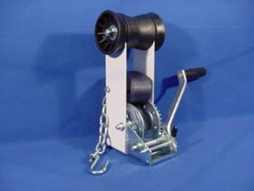Picture of WINCH ASSEMBLY 900# W/STRAP & ROLL (CS-XX-1) BLACK