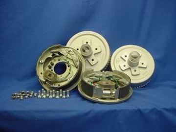 "Picture of Brake Kit Electric Drum 10"" 5-Lug - 1/Axle Oil"