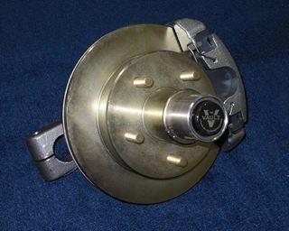 Picture of HUB-TORSION EU-42 DISC BRAKE LEFT ZINC