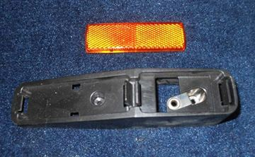 "Picture of BEZEL-BLACK PLASTIC ""WEDGE"" LIGHT"