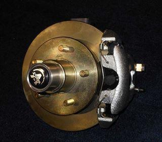 HUB-WELD ON EUv-42 DISC BRAKE RIGHT SIDE