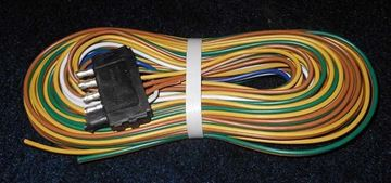 "Picture of 5 WAY 30' NON-MODULAR WIRING HARNESS W/60"" GROUND"
