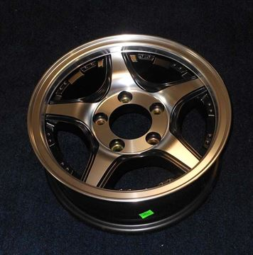 """Picture of WHEEL-13"""" ALUMINUM CROSS TRAX""""Special Order"""""""