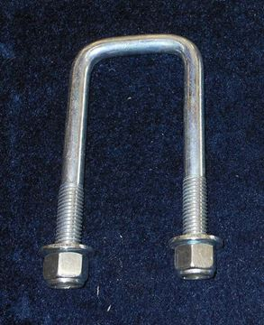"Picture of U-BOLT-1/2"" X 2 1/8"" X 5"" WITH WASHERS AND NUTS"
