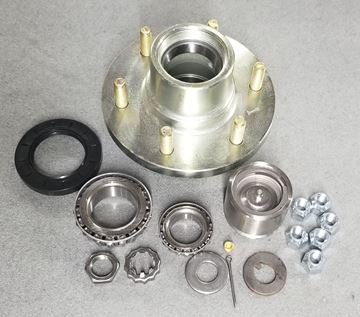 Picture of Hub Kit 6-Lug Grease w/Threaded Brng. Protect.