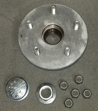 Picture of HUB KIT KNOTT 2700# AXLE (SEALED BEARING)