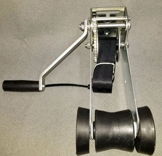 Picture of WINCH ASSEMBLY 900# w/WINCH STRAP GALVANIZED