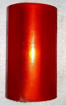 "Picture of ROLLER BOW POLY ORANGE 5.13"" 3""DIA  .69"" HOLE"