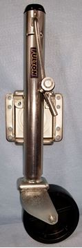 "Picture of TONGUE JACK 1200# CAP. SWIVEL w/U-BOLTS 3x4"" TUBE"