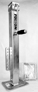 Picture of TONGUE JACK SQ. 5000# FIXED MNT. DROP LEG w/U-BOLTS