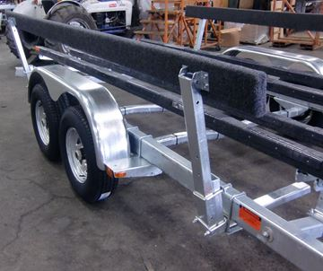 Picture of Load Guide Kit 12' Bunk Heavy Duty Wld'd/Adj. Tube Galv.