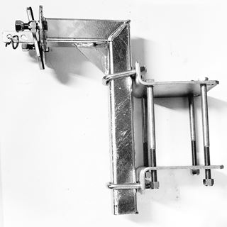 """Picture of Spare Tire Carrier Alum. 6.5 & 7"""" I-Beam"""
