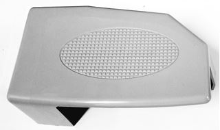 "Picture of Tail Light Cover Right (Gray) 3"" Wide Boom"