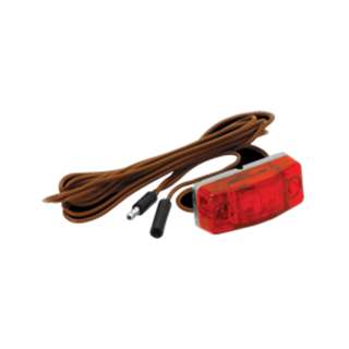 """Picture of Clearance Light Red LED 96"""" Harness"""