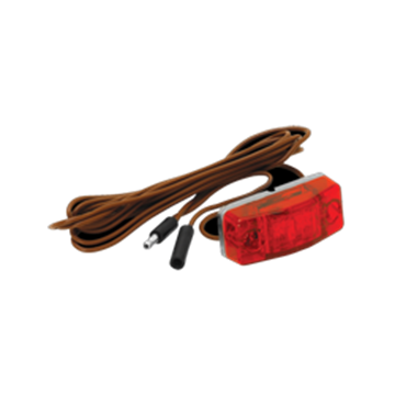 "Picture of Clearance Light Red LED 96"" Harness"