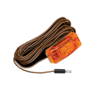 """Picture of Clearance Light Amber  162"""" Pigtail"""