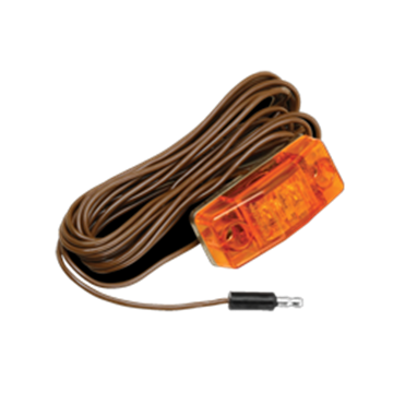 "Picture of Clearance Light Amber  162"" Pigtail"