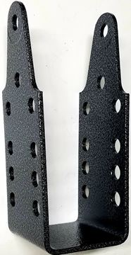 Picture of STRAP BENT BUNK/ROLL CHANNEL UPRIGHT (SHORT) BLACK