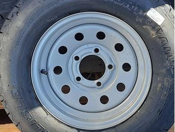 Picture of WHEEL/TIRE-ST215/75D14C ON SILVER supreme