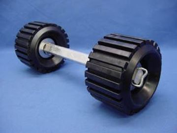 Picture of ARM STRAIGHT ROLLER ASSEMBLY, 2 ROLLS ON 12.5''
