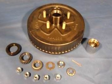Picture of HUB DRUM KIT 5 LUG 10'' GREASE w/BEARING PROTECTOR