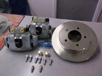 """Picture of DISC BRAKE KIT UFP 10"""" OIL BATH Non-Integral (1-Axle)"""