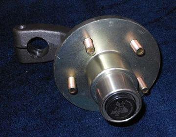 Picture of HUB-TORSION EU-37 COASTER ZINC