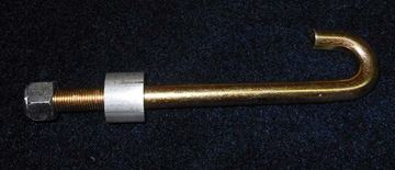 "Picture of J-BOLT W/NUT AND SPACER 1/2"" x 6 1/2"""